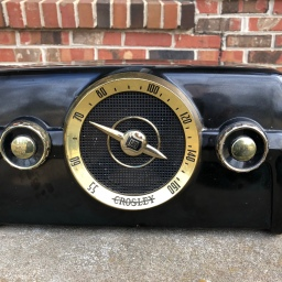 Crosley 10-136E Radio Restoration