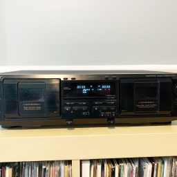 Sony TC-WE435 Cassette Deck – Belt Replacement